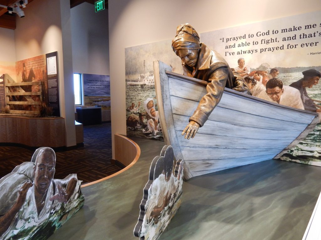Tubman as Civil War Hero, Harriet Tubman Visitors Center