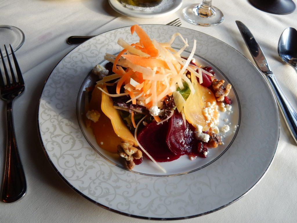 Beet Salad, Castle Hill Resort Restaurant, Proctorsville VT