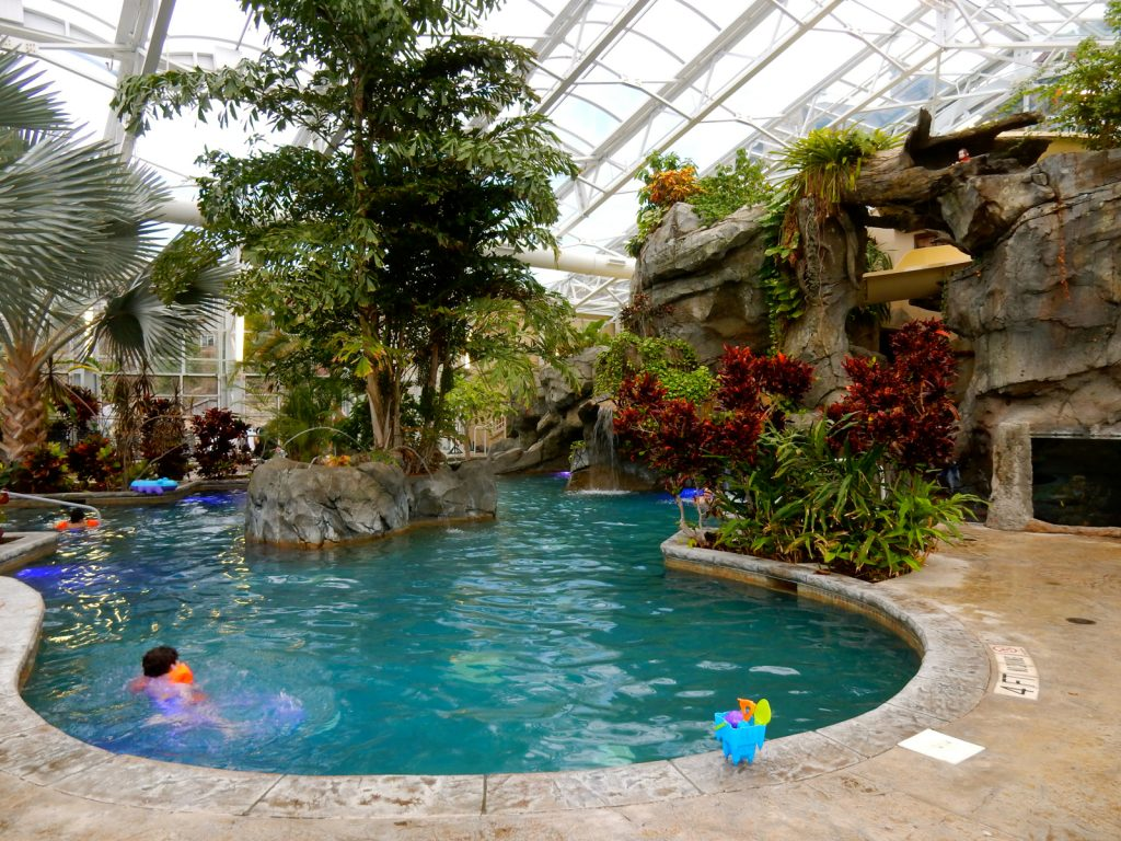 Bio-Sphere Pool Grand Cascades Lodge NJ