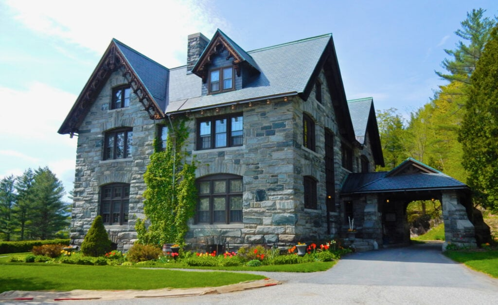 Castle Hill Resort Granite Exterior Proctorsville VT