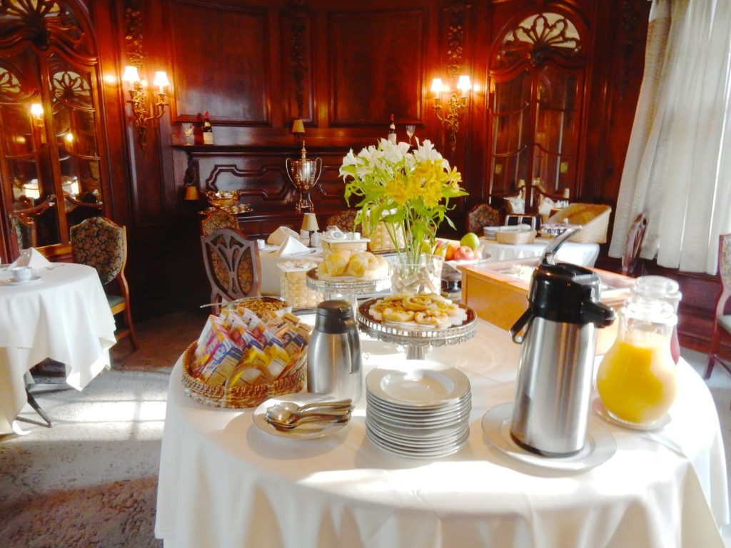 Continental Breakfast, Castle Hill Resort, Proctorsville VT