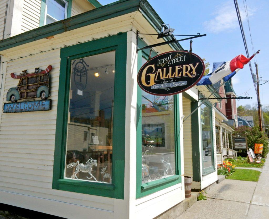 Depot Street Gallery, Ludlow VT