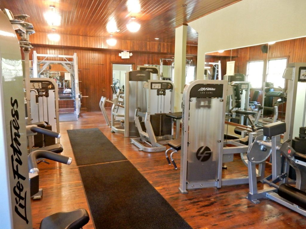 Fitness Center, Castle Hill Resort, VT