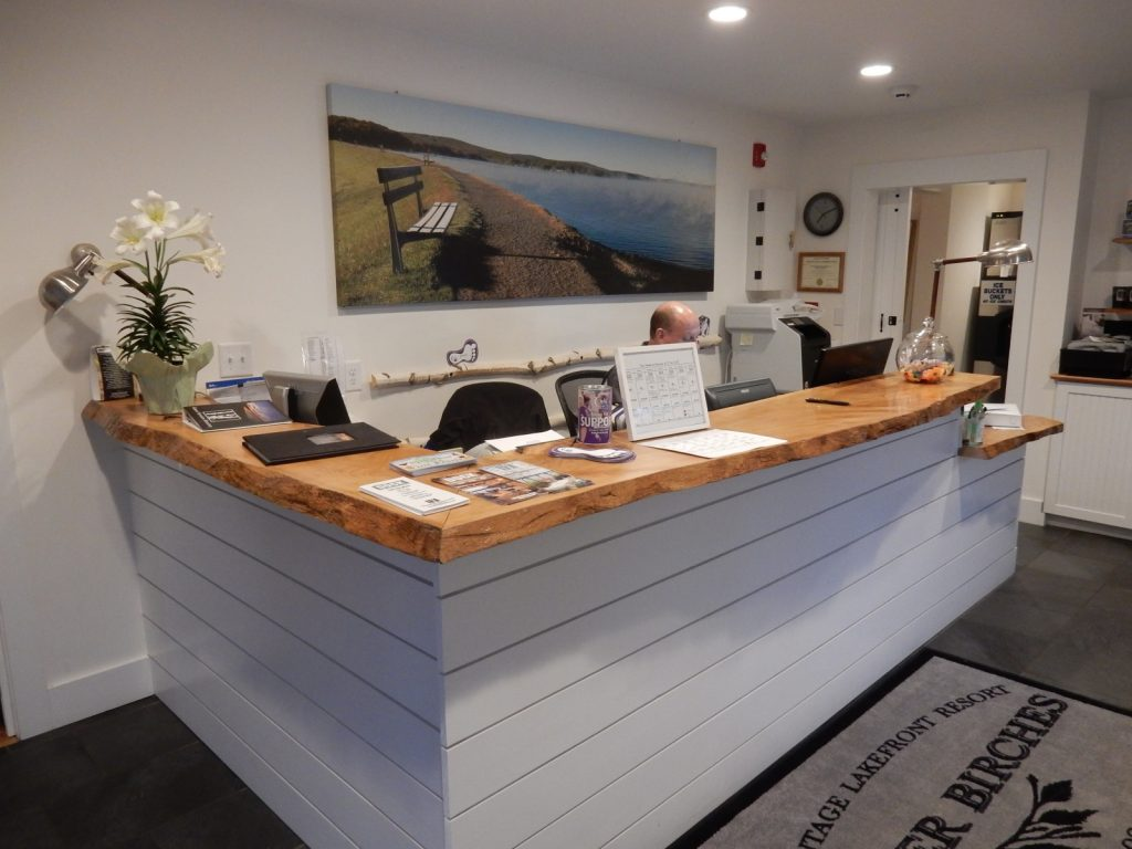 Front Desk, Silver Birches Resort, Hawley PA