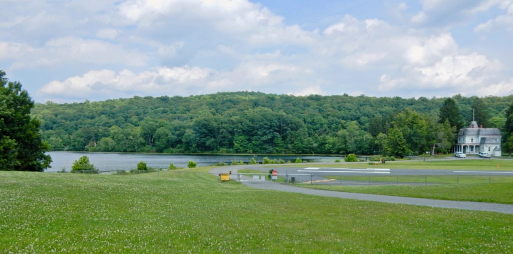 Kittatinny State Park Lake-NJ Fire Service Runway