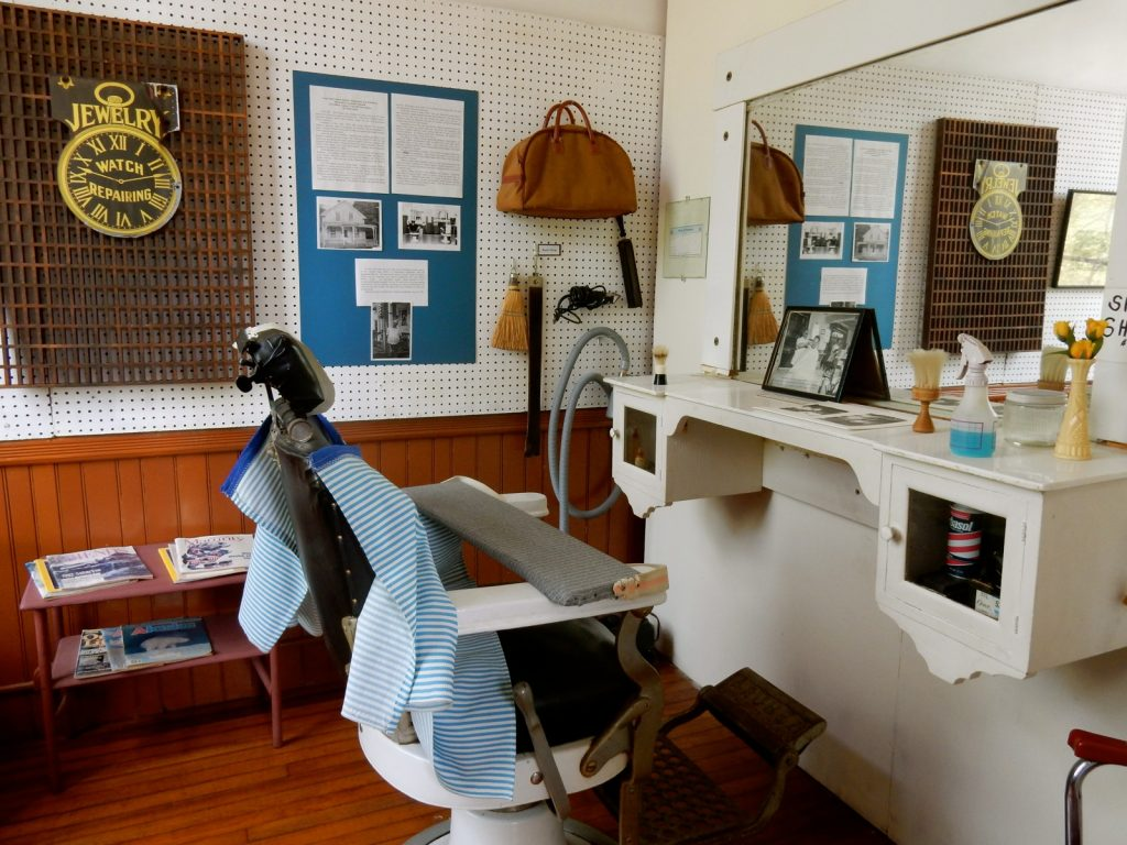 Local Barber, Black River Academy Museum, Ludlow VT