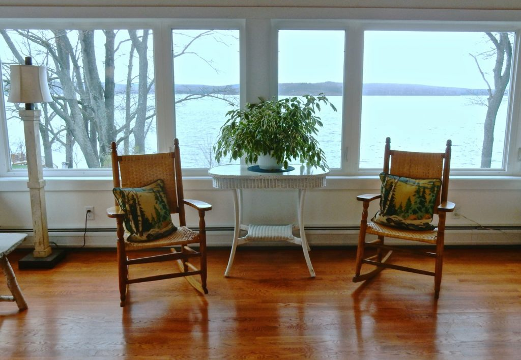 Sunroom, Silver Birches, Hawley PA