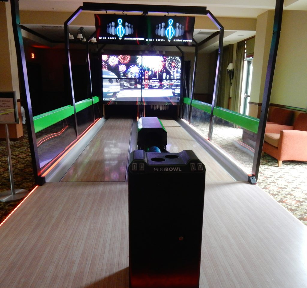 Virtual Bowling Alley, The Appalachian at Mountain Creek, NJ
