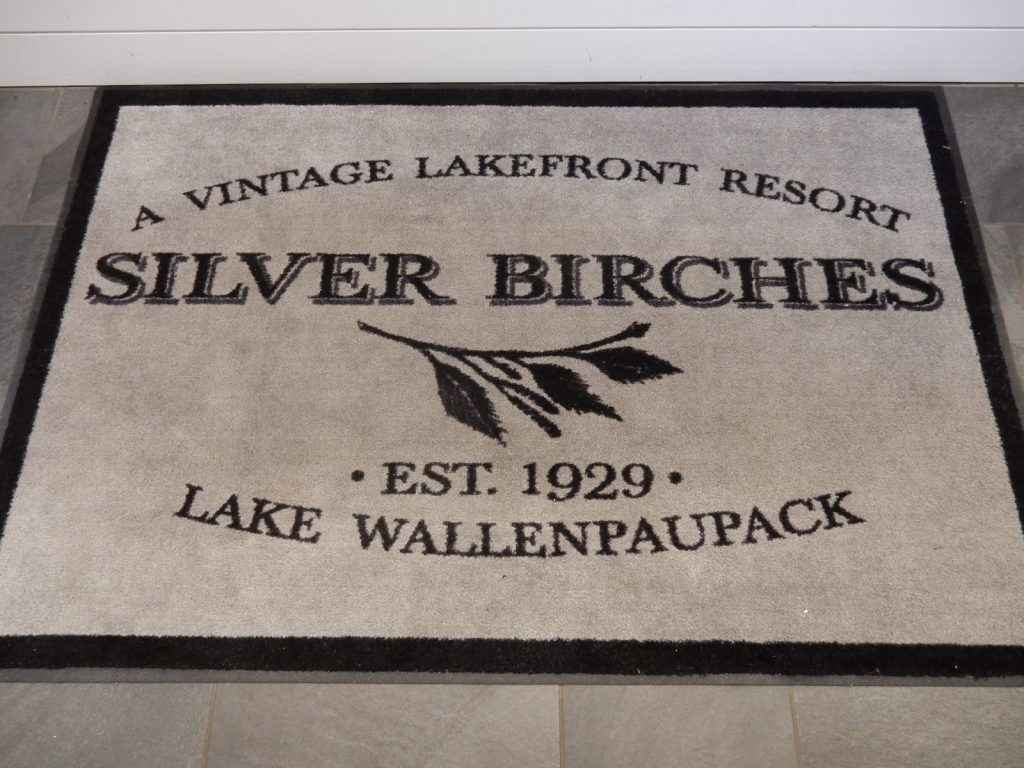 Welcome Mat, Silver Birches Resort, Hawley PA