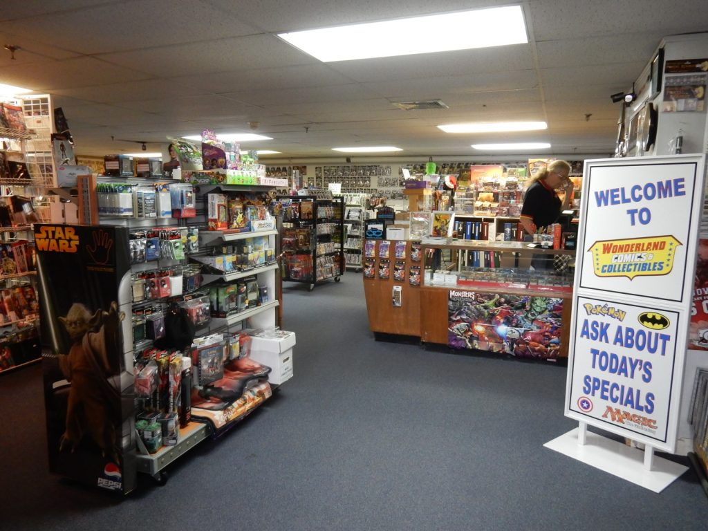 Wonderland Comics, Putnam CT