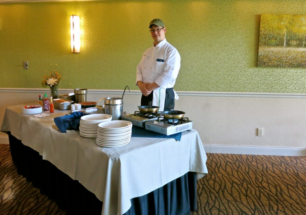 Johnny Carlson, Breakfast Chef, Interlaken Inn, Lakeville CT