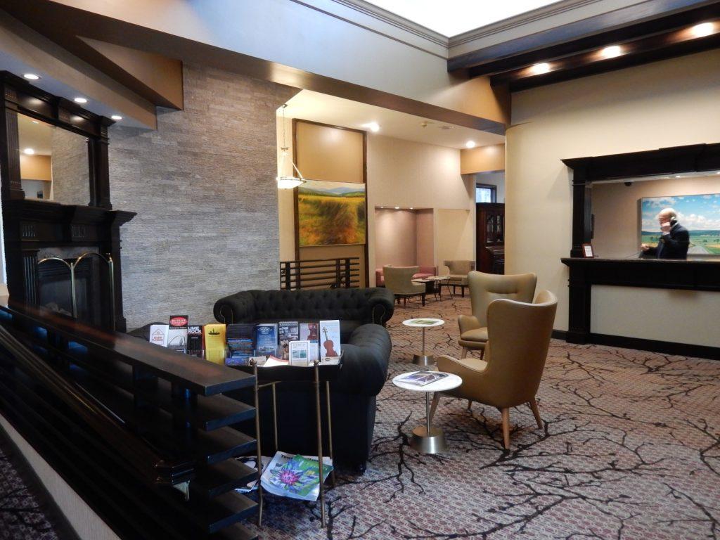 Lobby, Interlaken Inn, Lakeville CT