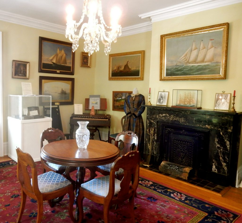 Mather House Parlor, Port Jefferson NY