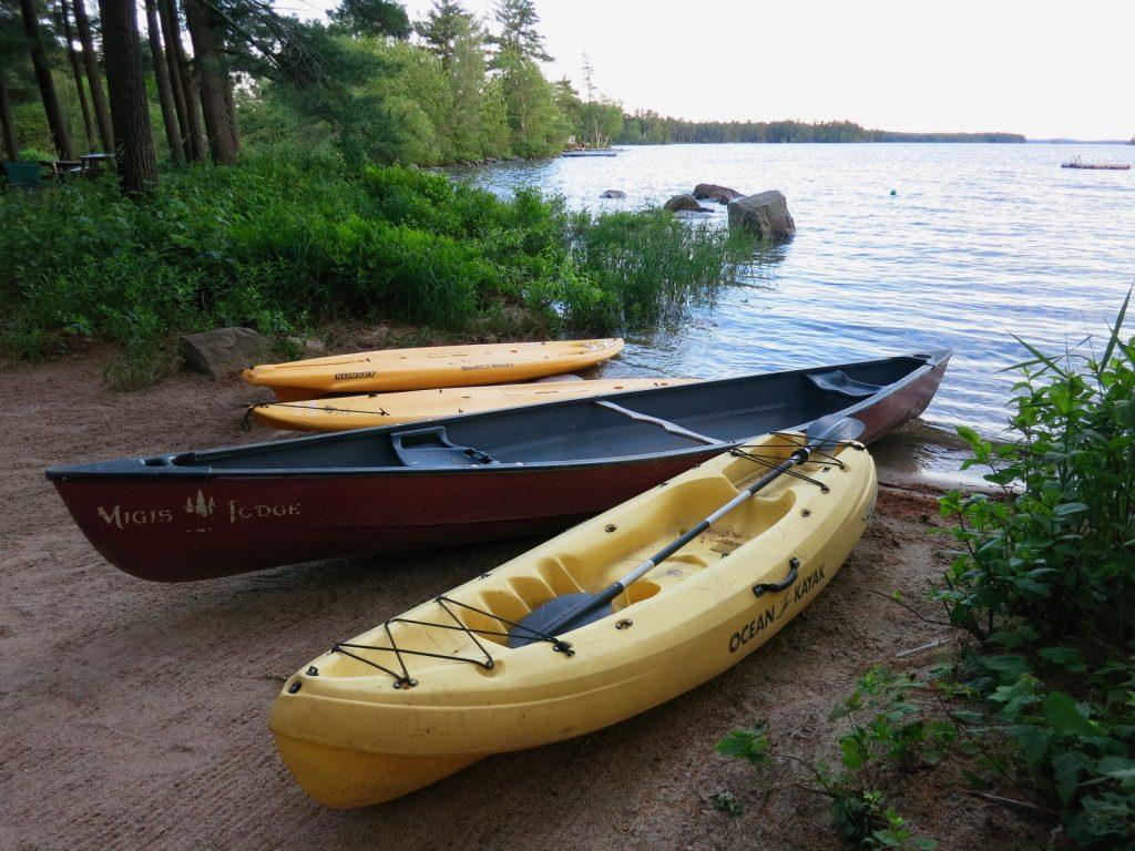 Migis Lodge Kayaks and Canoe