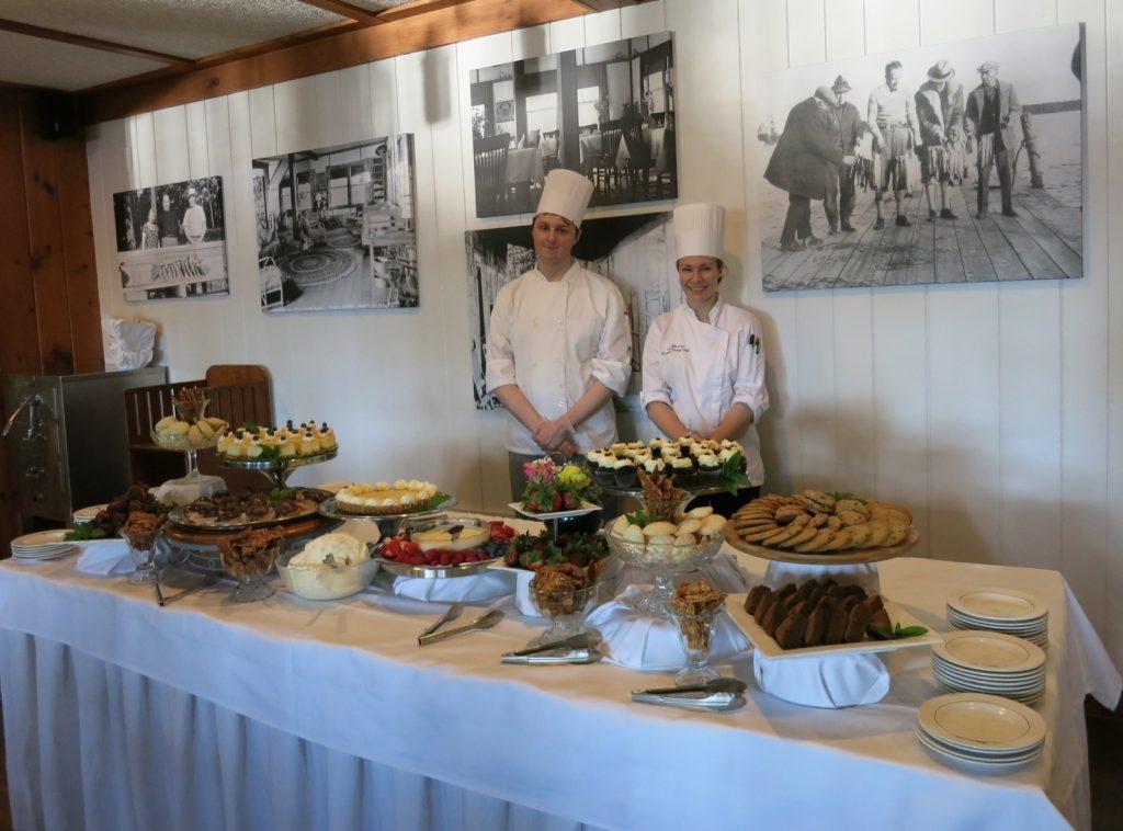 Migis Lodge Dessert Table