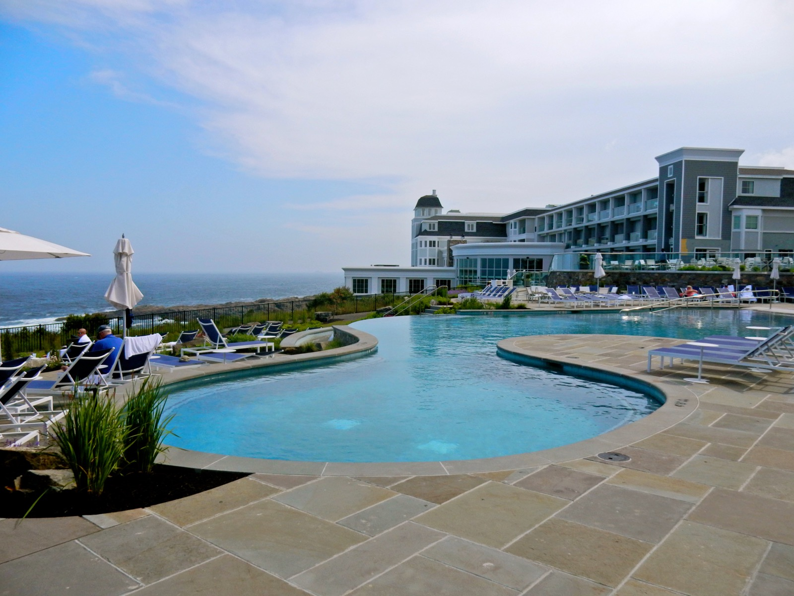 Cliff House pool