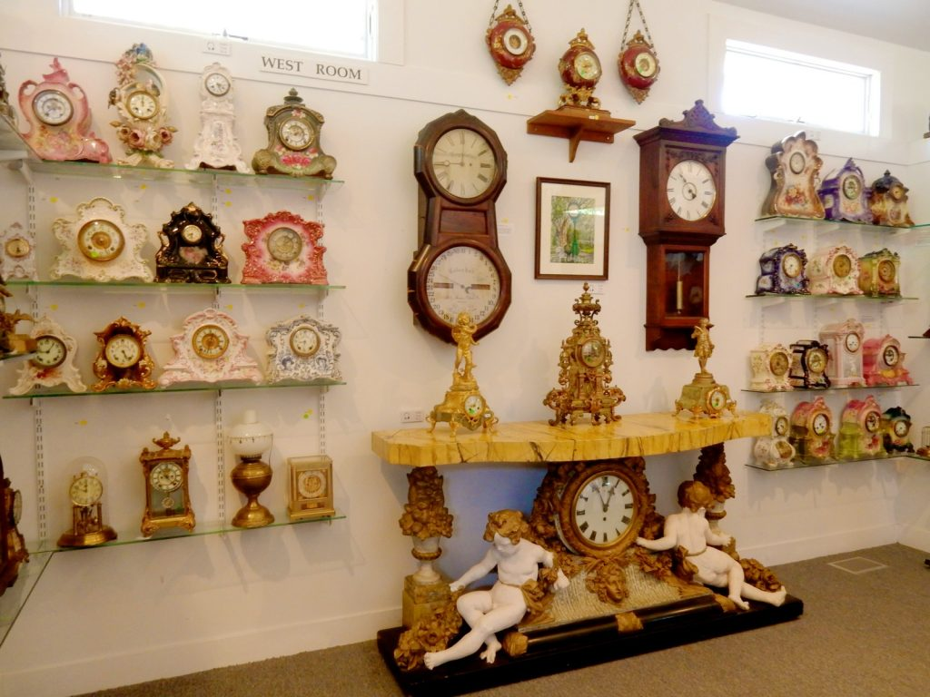Room of Clocks, Spinney Clock Collection, Mather House Museum, Port Jefferson NY