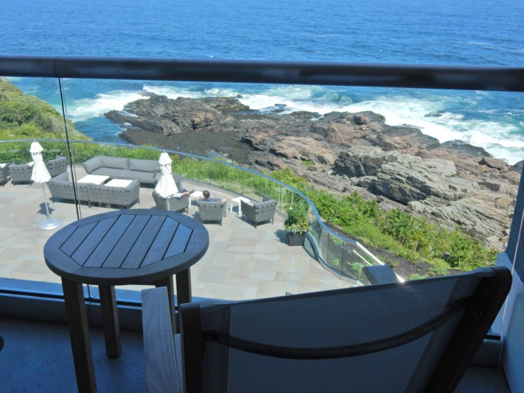 Ocean view from room Cliff House ME