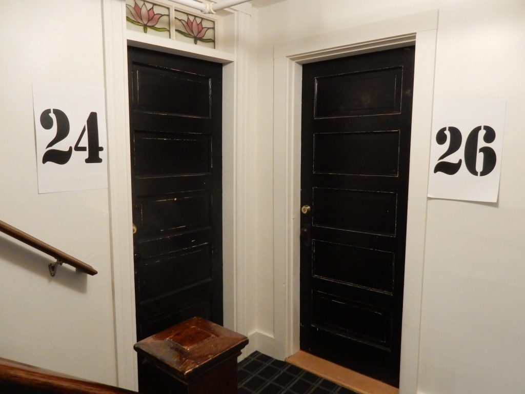 Guest Room Doors Higgins Beach Inn