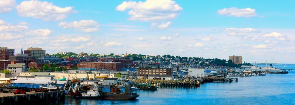 Harbor front Portland MD weekend getaway