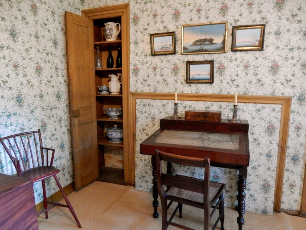 Henry Wadsworth Longfellow writing desk Portland ME