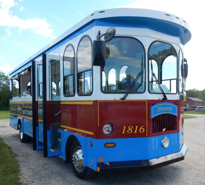 Portland ME Discovery Tour Bus