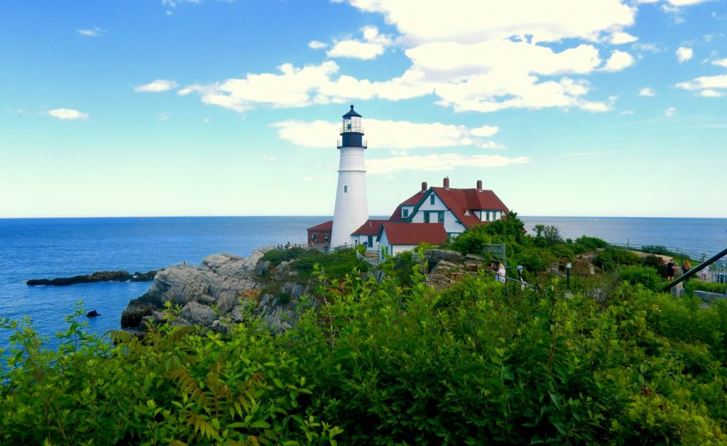 Fort Williams Park/ Portland Head Lighthouse.