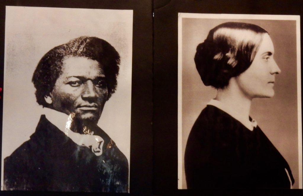 Susan B Anthony and Fredrick Douglas photo