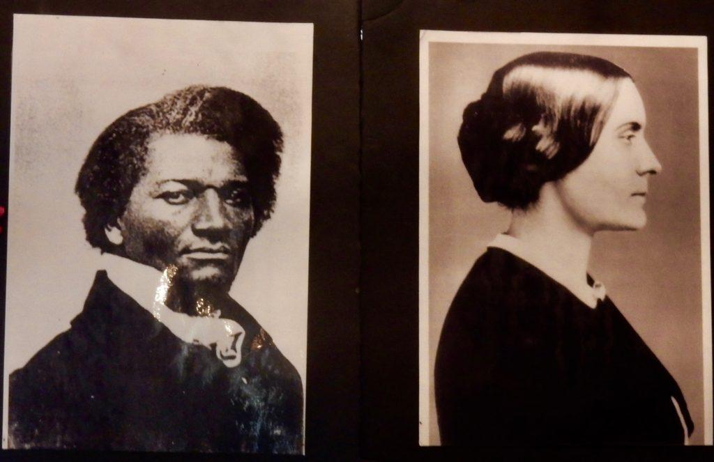 Susan B Anthony and Fredrick Douglas photo