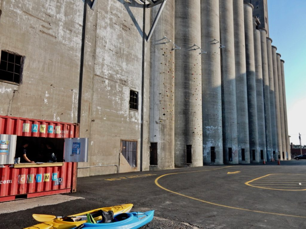 Riverworks - a brewery inside a grain silo.