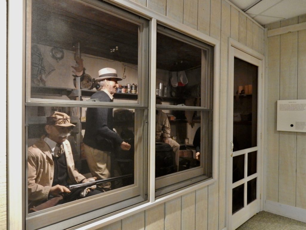 Famous Decoy Carvers Diorama, Decoy Museum, Havre de Grace MD