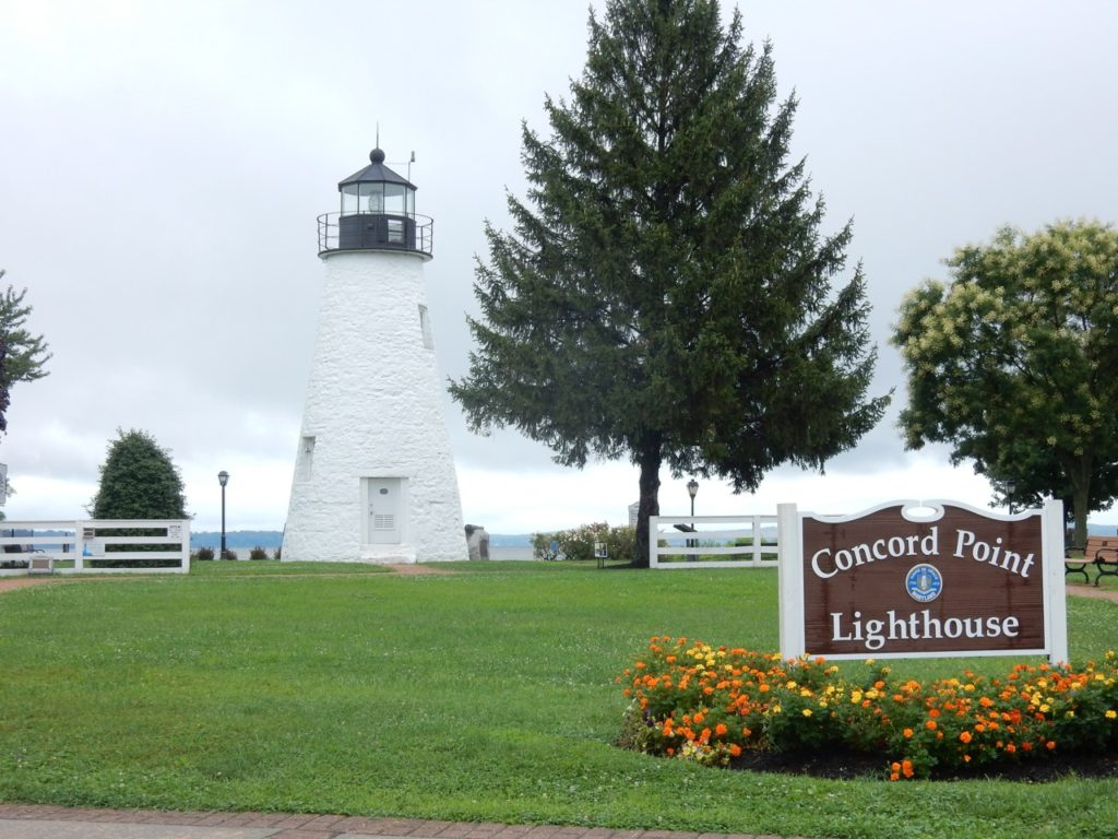 Concord Point Lighthouse in Havre de Grace MD