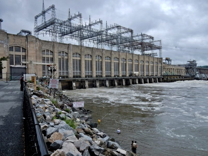 Conowingo Dam on the Susquehanna River MD