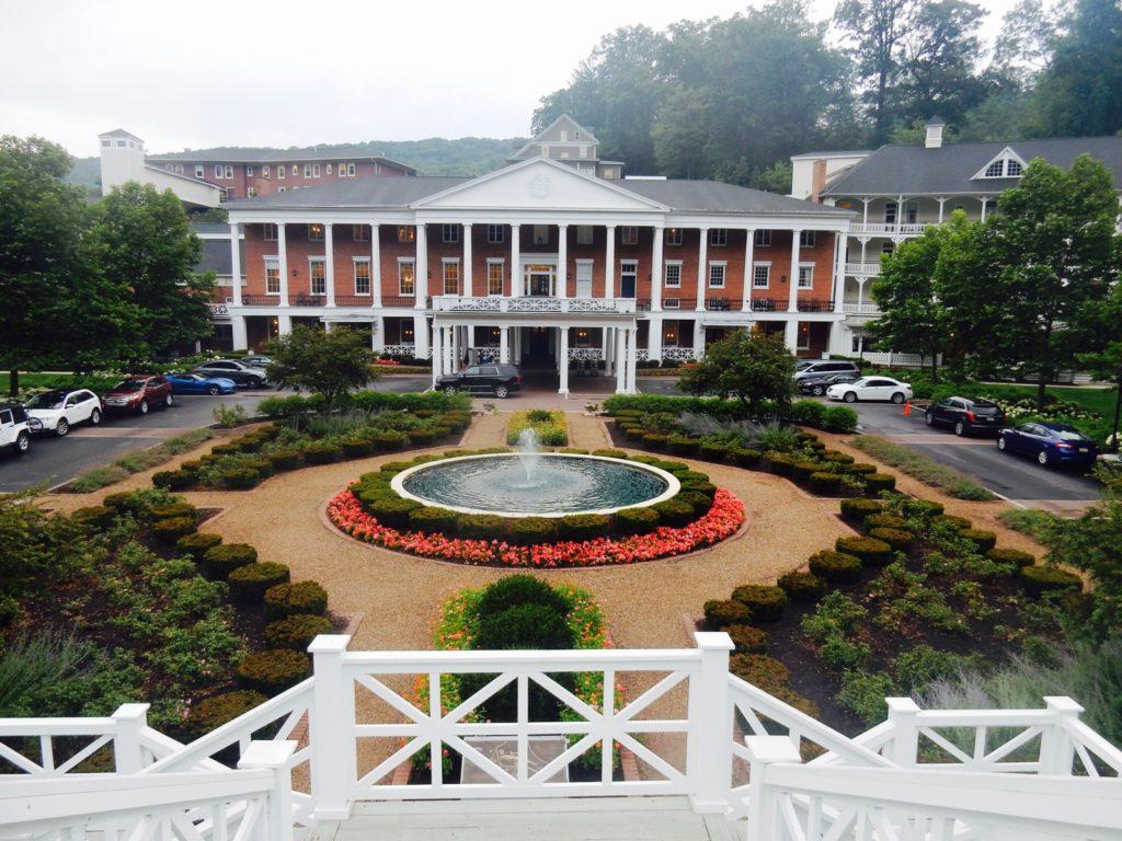 Entrance Omni Bedford Springs Resort PA