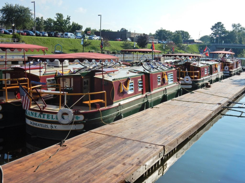 Erie Canal Boats