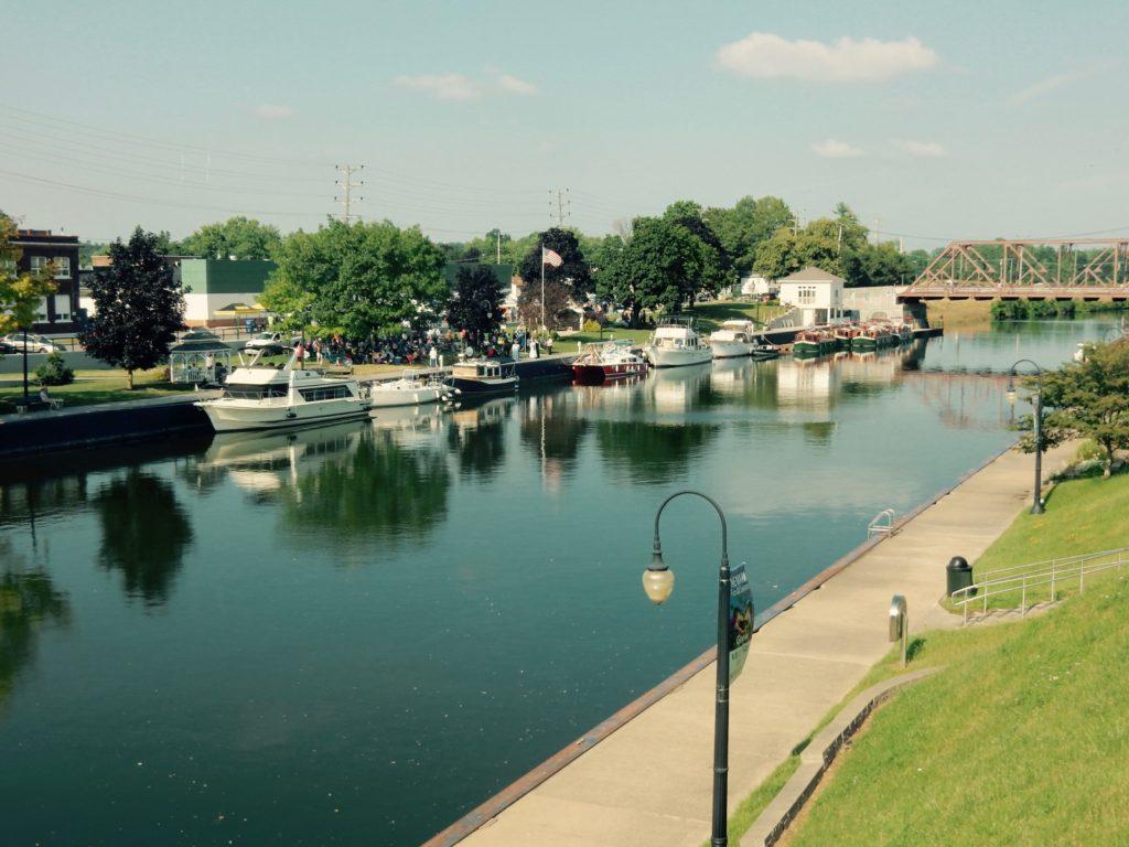 Erie Canal Newark NY