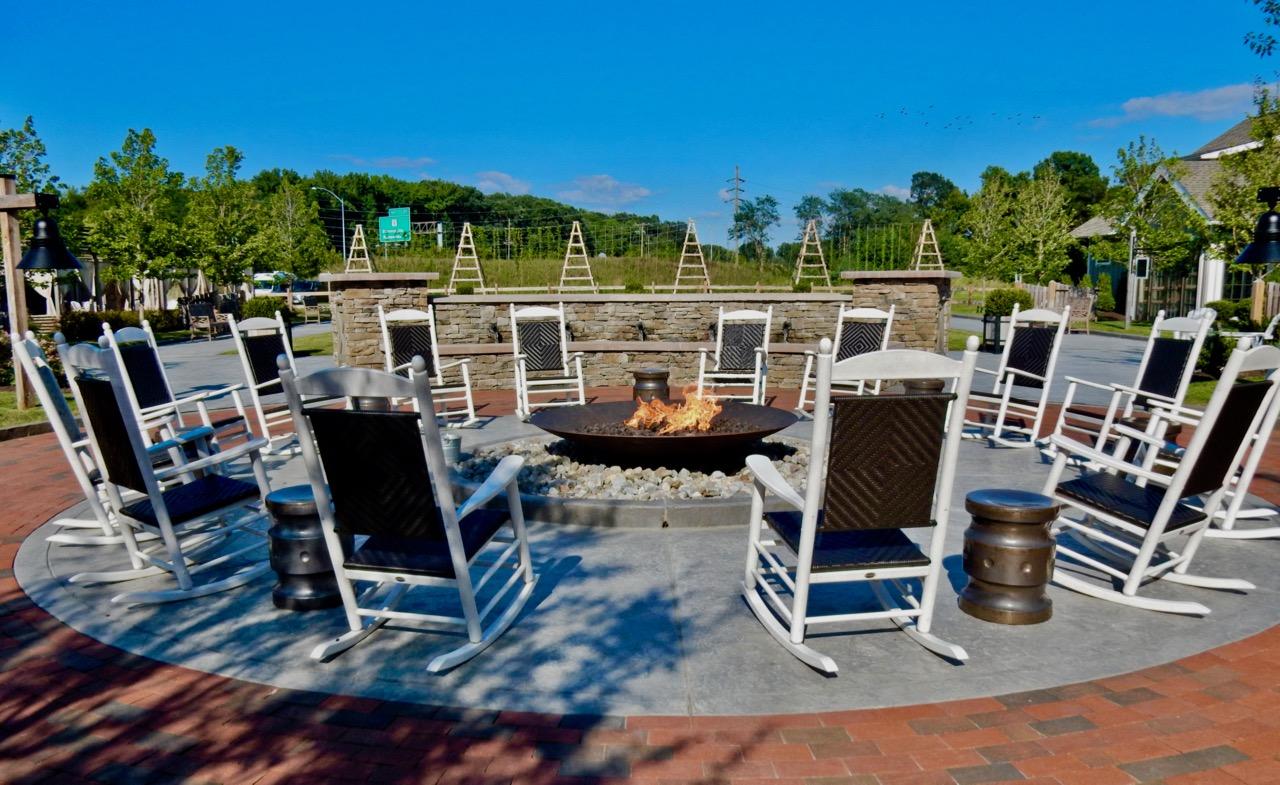 Fire Pit Inn At Chesapeake Bay Beach Club Kent Island Md