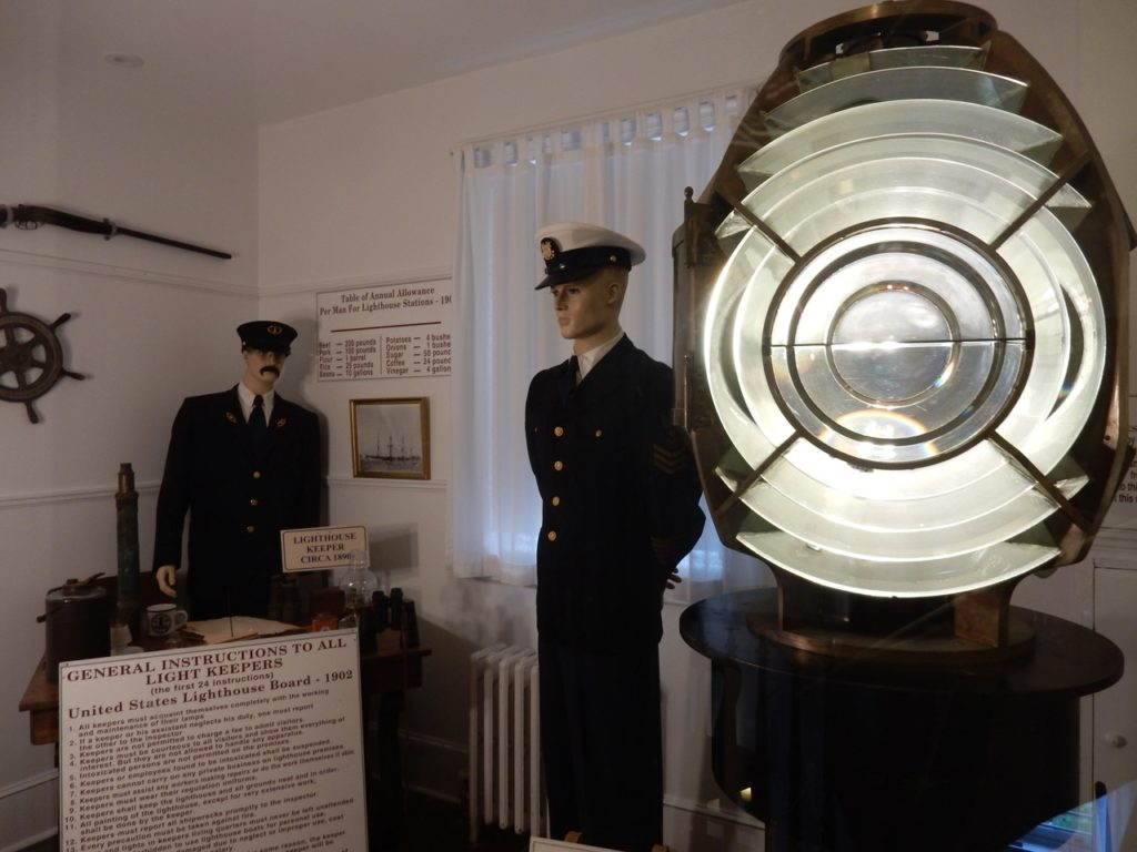 Fresnel Lens Hereford Inlet Lighthouse N Wildwood NJ