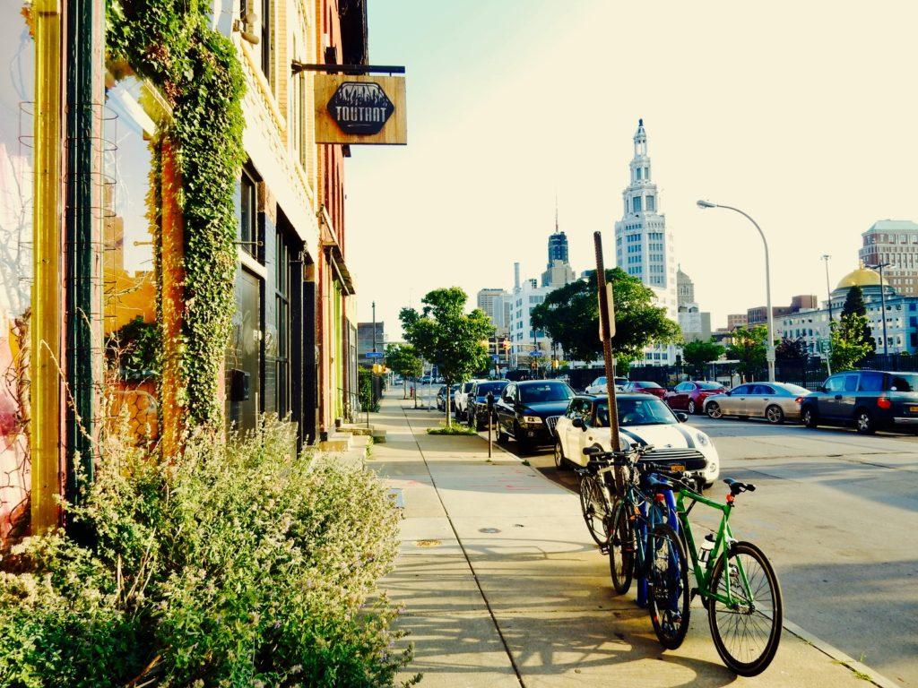 Buffalo NY street scene