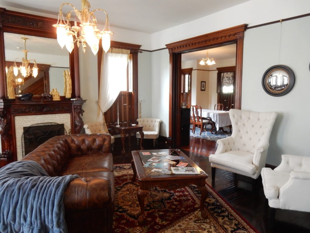 Gage Mansion B&B Parlor Huntingdon PA