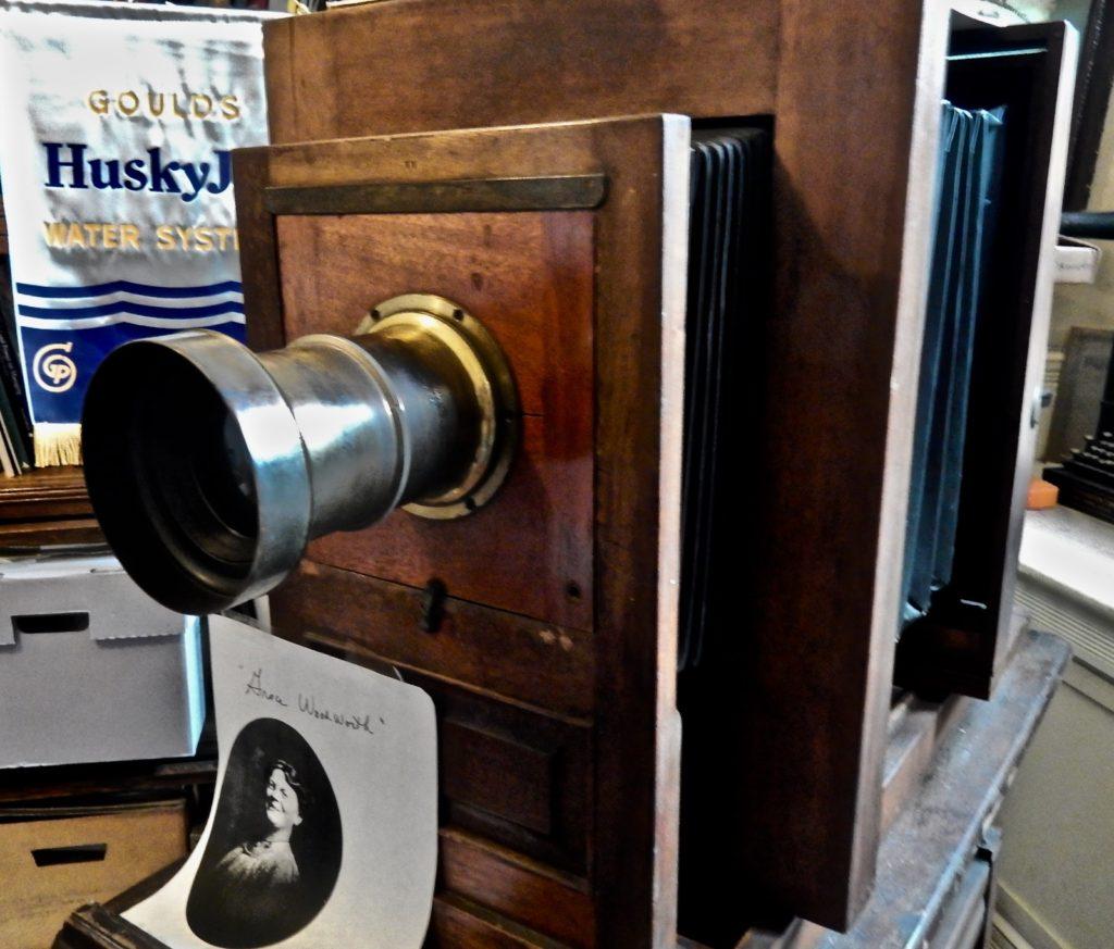 Grace Woodworth Camera Seneca Falls Historical Society Museum NY