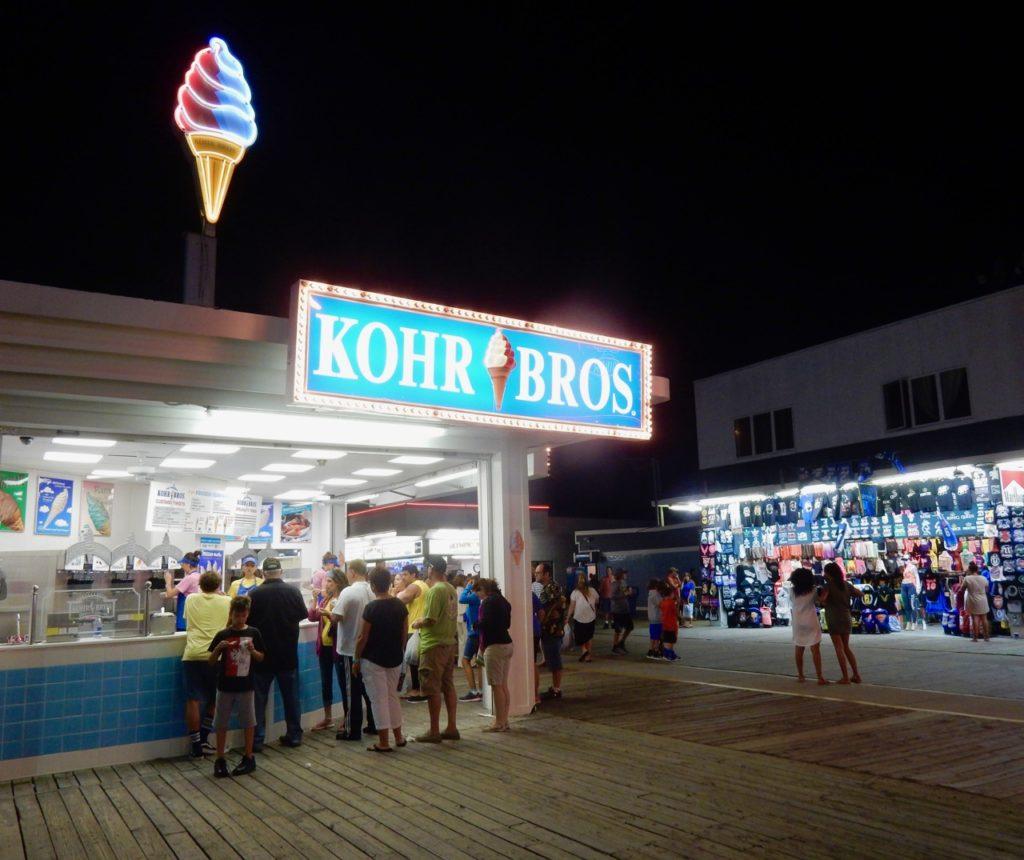 Kohr Bros Wildwood Boardwalk NJ