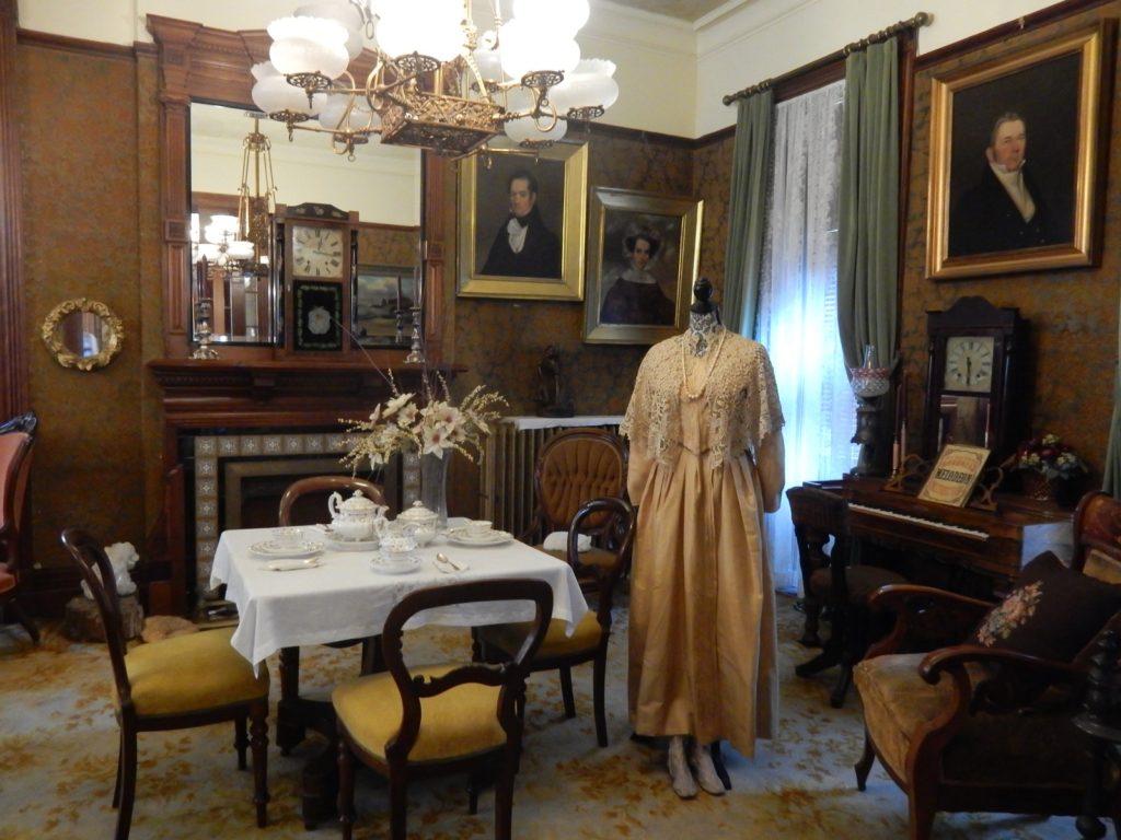 Lincoln Tea Set Seneca Falls Historical Society Museum NY