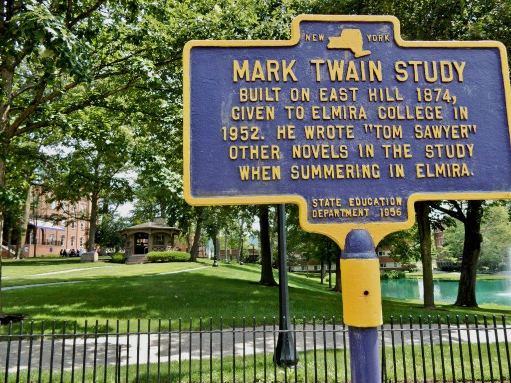 Mark Twain Study Elmira NY
