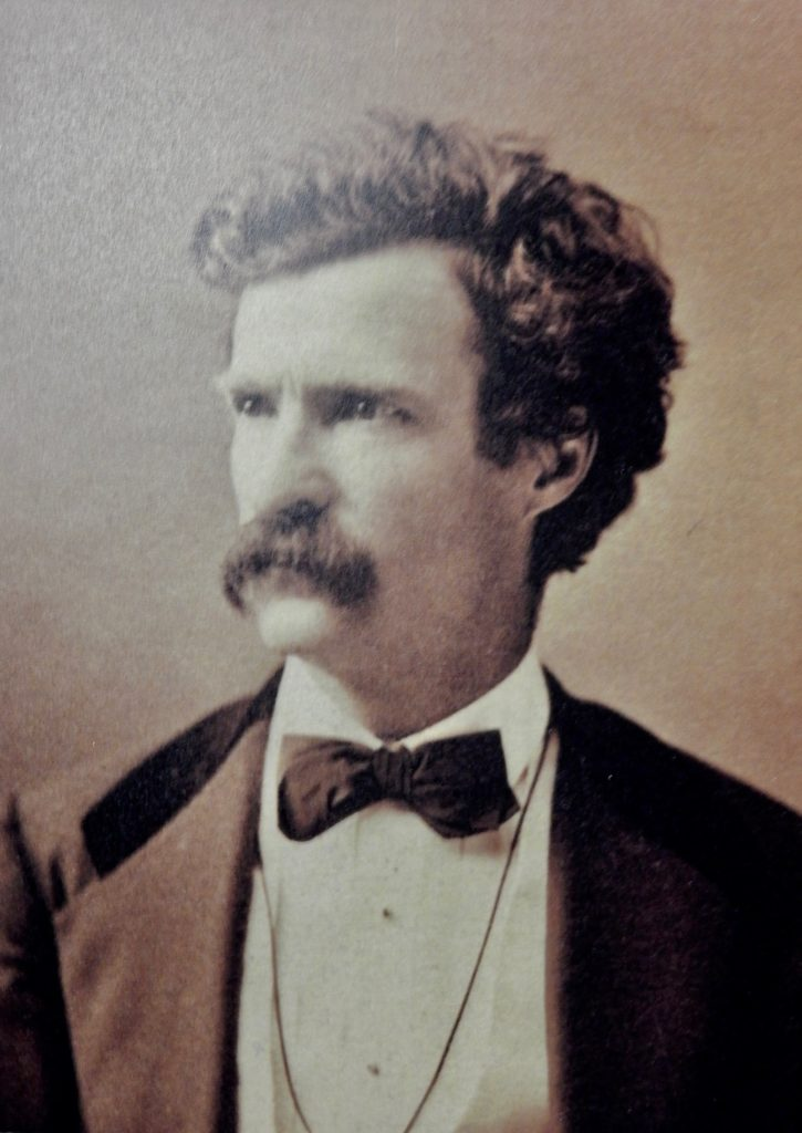 Photo of young Mark Twain