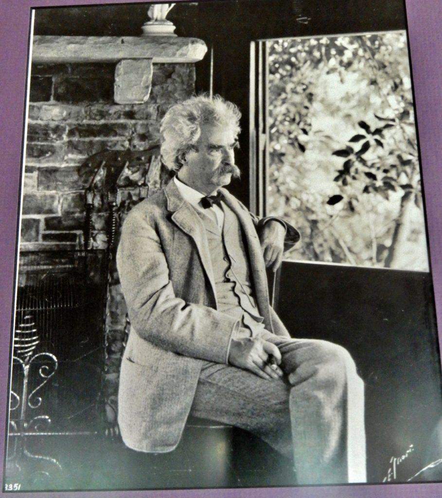 Mark Twain in his Study Elmira NY