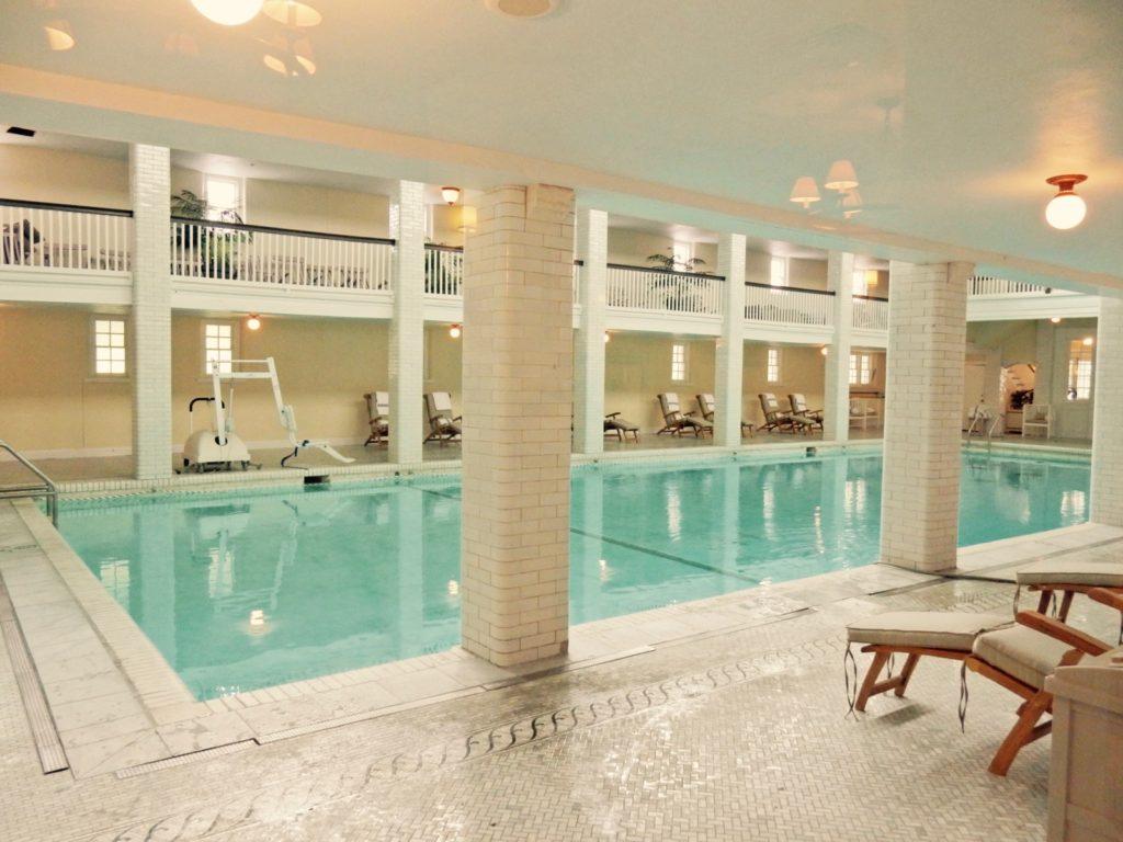 Indoor Pool Omni Bedford Springs Resort PA