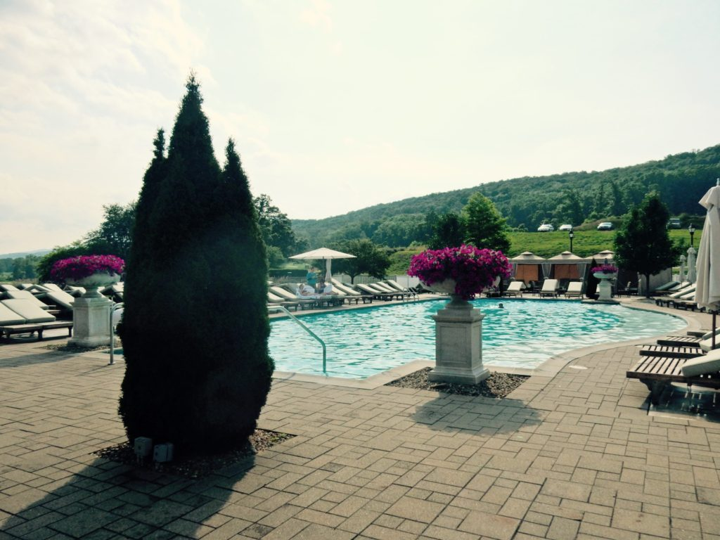 Outdoor pool Omni Bedford Springs PA