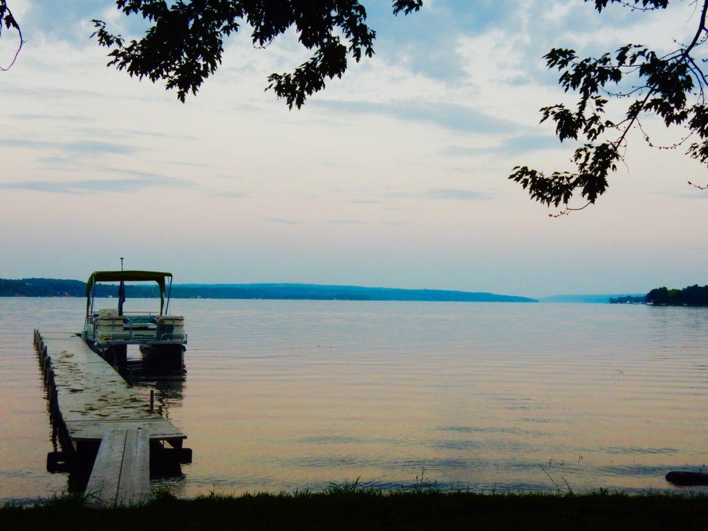 Owasco Lake Eve Auburn NY