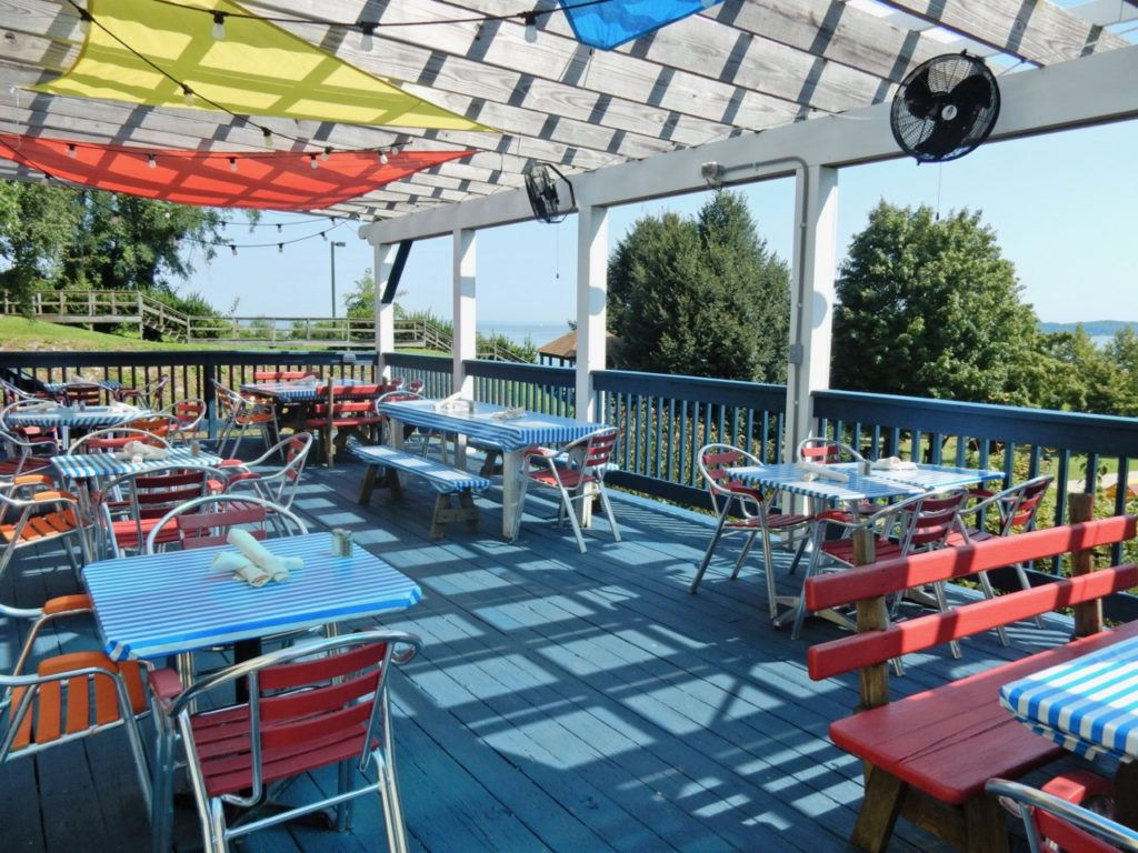 Patio at Barbaras on the Bay Betterton MD